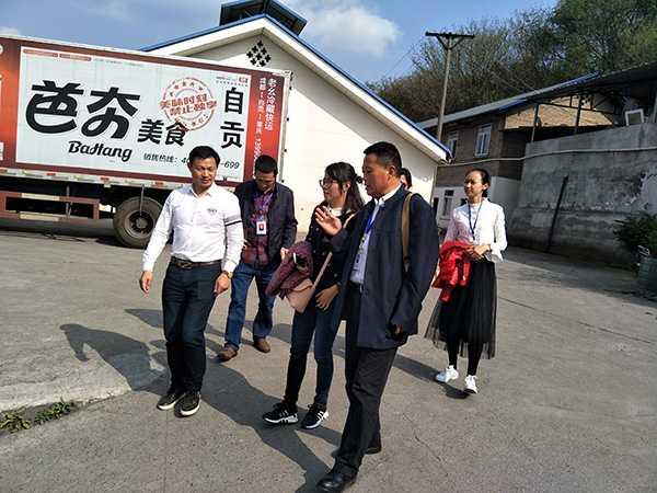 街道及社区领导来公司参观及指导工作